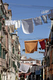 Laundry in Venice, Italy. Stock Photos