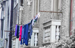 Laundry, Venice, Italy Royalty Free Stock Photography