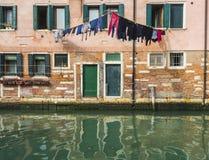 Laundry Venice Style Stock Photos