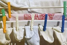 Laundry Royalty Free Stock Images