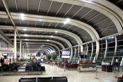 Launge de la salida del aeropuerto nacional de Bombay Fotos de archivo