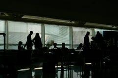 Launge del aeropuerto fotografía de archivo libre de regalías