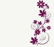 Launische Auslegung der Blumen Lizenzfreie Stockfotos