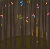 Launischer Wald Stockfoto