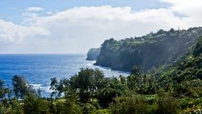 Laupahoehoe Point, Hawaii Royalty Free Stock Photo