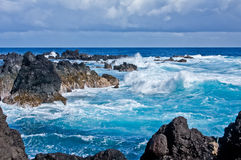 Laupahoehoe Point, Hawaii Royalty Free Stock Images