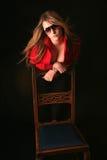 Laura atractiva Imágenes de archivo libres de regalías