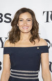Laura Benanti. Luscious tv and Broadway star Laura Benanti arrives for the 70th Annual Tony Awards Meet the Nominees press reception.  The event was held at the Stock Photos