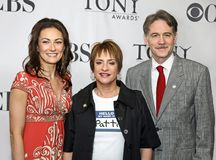 Laura Benanti, Patti LuPone, and Boyd Gaines Stock Images
