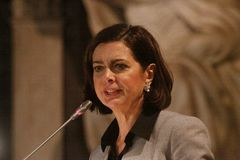 Laura Boldrini Royalty Free Stock Image