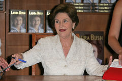 Laura Bush Foto de Stock