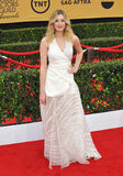 Laura Carmichael. LOS ANGELES, CA - JANUARY 25, 2015: Laura Carmichael at the 2015 Screen Actors Guild  Awards at the Shrine Auditorium Stock Photo