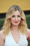 Laura Carmichael. LOS ANGELES, CA - JANUARY 25, 2015: Laura Carmichael at the 2015 Screen Actors Guild  Awards at the Shrine Auditorium Royalty Free Stock Photo