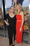 Laura Dern & Cheryl Strayed fotografia stock