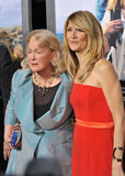 Laura Dern & Diane Ladd immagine stock