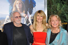 Laura Dern & Diane Ladd & Bruce Dern Royalty Free Stock Images