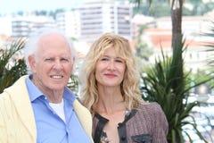 Laura Dern e Bruce Dern fotos de stock