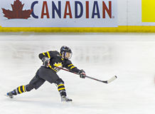 IIHF Women's Ice Hockey World Championship. Laura Fortino in action for Team Canada during their victory over Team USA in their first preliminary game at the Stock Photo