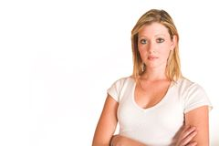 Laura Hopton #37 stock afbeelding