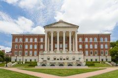 Laura Lee Blanton Building och tunnbindare Centennial Fountain Royaltyfria Foton