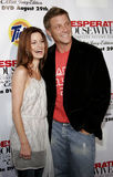 Laura Leighton and Doug Savant. At the Desperate Housewives: Extra Juicy Edition Season 2 DVD Launch held at the Wisteria Lane Universal Studios in Hollywood Royalty Free Stock Image