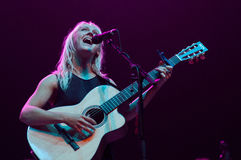 Laura Marling performs at San Miguel Primavera Sound Festival Royalty Free Stock Photo