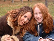 Laura and Mary 3 royalty free stock images