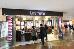 Laura mercier shop in hong kong Stock Photography