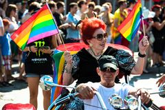 Laura participating on Christopher Street Day Royalty Free Stock Photography