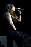 Laura Pausini, cantor italiano imagens de stock royalty free