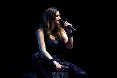 Laura Pausini, italian singer Royalty Free Stock Image