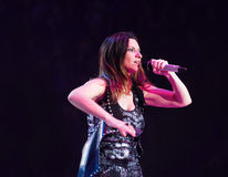 Laura Pausini, italian singer Royalty Free Stock Photo