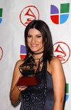 Laura Pausini. In the Press Room at the 6th Annual Latin Grammy Awards. Shrine Auditorium, Los Angeles, CA. 11-03-05 Royalty Free Stock Image