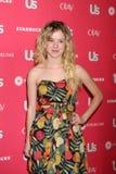 Laura-Pflugsohle Wiggins, das zu dem heißen Hollywood Art-Ereignis 2011 Us Weekly-kommt Stockbilder