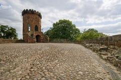 Laura's tower. At Shrewsbury Castle, Shropshire, UK royalty free stock photography
