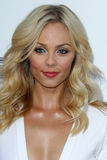 Laura Vandervoort arrives at the  Royalty Free Stock Photo