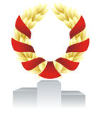 Laureate wreath Stock Photography