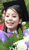 Laureato dell'asiatico. Fotografia Stock Libera da Diritti
