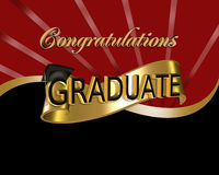Laureato di congratulazioni Immagine Stock