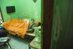 LAUREATO PIÙ POCO QUALIFICATO DELL'INDONESIA Fotografia Stock