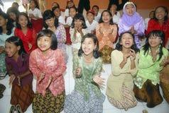 LAUREATO PIÙ POCO QUALIFICATO DELL'INDONESIA Fotografia Stock Libera da Diritti