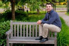 Laureato sulla città universitaria nell'Oregon Fotografia Stock Libera da Diritti