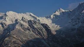 Laurebina mountain pass seen from Thade Pati, Helambu.