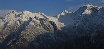 Laurebina La mountain pass in spring. Scene in Nepal.