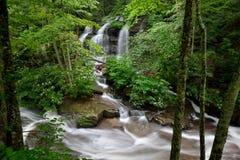 Laurel Creek cascades, West Virginia Stock Photography