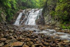 Laurel Creek Falls, Tennessee stock afbeeldingen