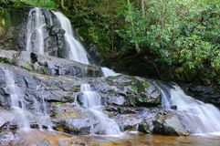 Laurel Falls in Great Smoky Mountains Royalty Free Stock Photos