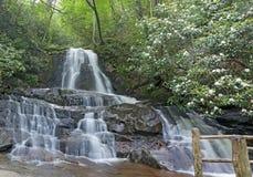 Laurel Falls, Great Smoky Mountains National Park Royalty Free Stock Photos