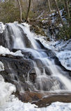 Laurel Falls in Great Smoky Mountains National Park stock photo