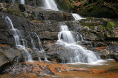 Free Laurel Falls In The Smoky Mountains NP Royalty Free Stock Images - 5214119